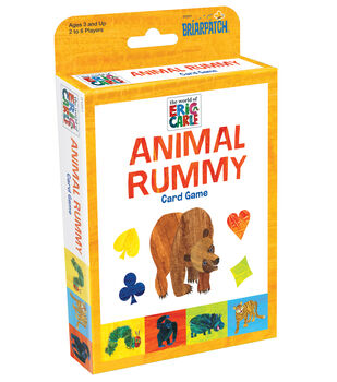 Briarpatch Eric Carle Animal Rummy Card Game