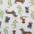 Super Snuggle Flannel Fabric-Southwestern Pup