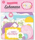 Echo Park Paper Company Perfect Princess Ephemera Cardstock