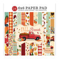 Carta Bella Double-Sided Paper Pad 6\u0022X6\u0022 24/Pkg-Fall Break, 12 Designs