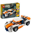 LEGO Creator 3-in-1 Sunset Track Racer Set