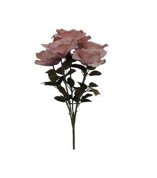 Blooming Autumn 20'' Moody Rose Bush-Pink