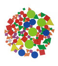 Little Makers Adhesive Foam Stickers-Shapes