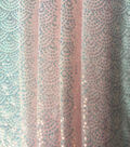 Let\u0027s Pretend Sequin Fabric-Irridescent Scallop on Mesh