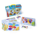 Interactive Peg Board Game with 180 Pegs, 3/8\u0022