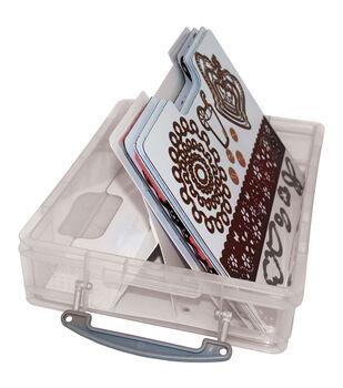 Zutter Magnetic Die & Stamp Storage Case-Clear