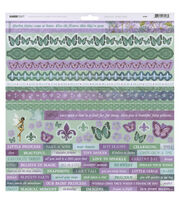 Kaisercraft Fairy Dust 12''x12'' Cardstock Stickers, , hi-res