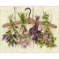 RIOLIS 11.75\u0027\u0027x9.5\u0027\u0027 Counted Cross Stitch Kit-Herbs