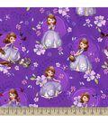 Disney Junior Sofia The First Print Fabric