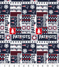 New England Patriots Cotton Fabric-Winter