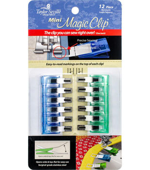 Taylor Seville 12 pk Mini Magic Clips