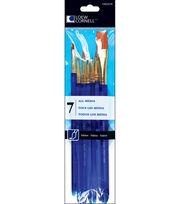 Loew-Cornell 7 pk Taklon Craft Brushes, , hi-res