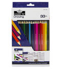 Royal Langnickel Learn To Drawing 33pc Set