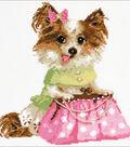 RIOLIS 9.75\u0027\u0027x9.75\u0027\u0027 Counted Cross Stitch Kit-Chihuahua