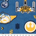 Star Wars Fleece Fabric-Poe Badge Insignia