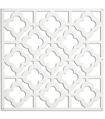 Wall Pops Honeycomb Decorative Room Panels , 4 Panel Set