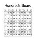 Carson-Dellosa Hundreds Board Chart 6pk