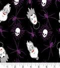 Disney Villains Halloween Knit Fabric 59\u0022-Toss Foil
