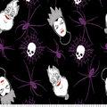 Disney Villains Halloween Knit Fabric-Tossed