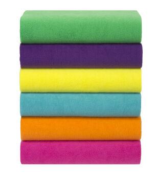 Anti Pill Fleece Fabric Solids 3 Yard Pieces
