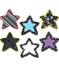 BW Stars 6\u0022 Designer Cut-Outs