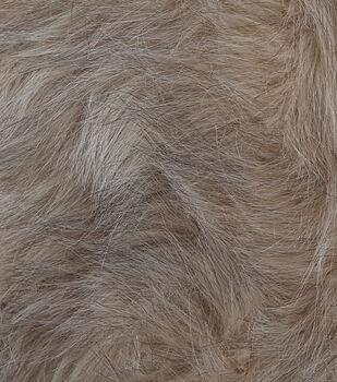 Fashion Faux Fur Fabric 57 Blonde Wolf