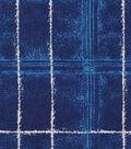 Snuggle Flannel Fabric 42\u0027\u0027-Jade Navy Plaid