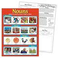 Nouns Learning Chart 17\u0022x22\u0022 6pk