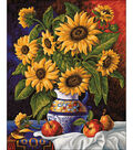 Diamond Embroidery/Printed/Gem Kit 48X38cm-Sunflowers\u0027 Bunch