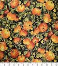 Harvest Cotton Fabric-Pumpkin Patches