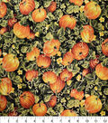 Harvest Cotton Fabric 44\u0022-Pumpkin Patch