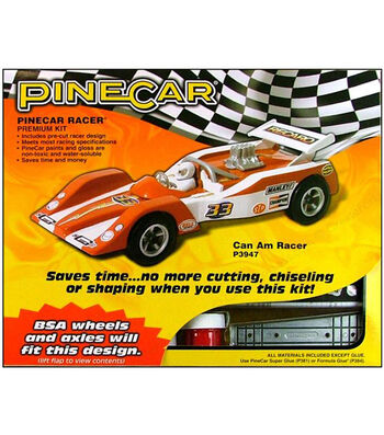 PineCar Can Am Racer Premium Kit