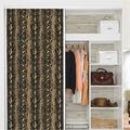 York Wallcoverings Wallpaper-Gold & Black Snake Skin