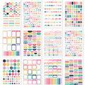 Simple Stories Carpe Diem 944 pk A5 Planner Basic Planner Sticker Tablet
