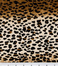 Suede Fabric -Leopard