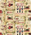 Susan Winget Cotton Fabric 43\u0022-Vintage Toy Shop