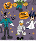 Disney Mickey & Friends Halloween Fleece Fabric 59\u0022-Scare Up Fun