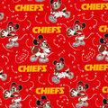 Kansas City Chiefs Cotton Fabric-Mickey Mouses