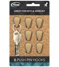 The Board Dudes Push Pin Hooks 6pk