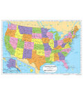 Painless Learning Laminated Placemat-United States