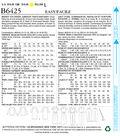 Butterick Pattern B6425 Misses\u0027 Top, Dress, Jumpsuit & Pants-Size 6-14