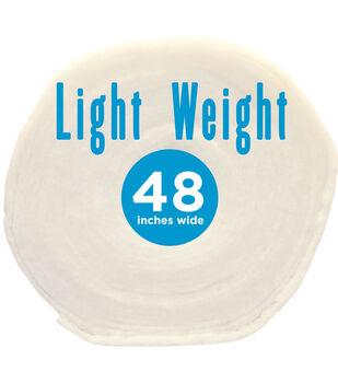 "Poly-Fil Light-Weight Batting 48"" wide x 45 yard Roll"