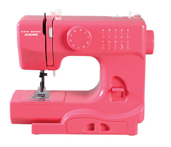 Janome Derby Portable Sewing Machine- Pink Lightning