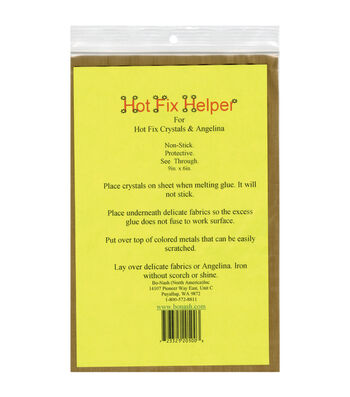 "Hot Fix Helper Fiberglass Ironing Sheet 9""x6"""