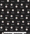 Pittsburgh Steelers Cotton Fabric -Mini Print