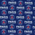 Paris Saint-Germain Football Club Cotton Fabric