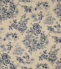 Home Decor 8\u0022x8\u0022 Fabric Swatch-Jaclyn Smith Alyssa-Indigo