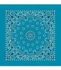 Hav-A-Hank Paisley Bandanna-Turquoise