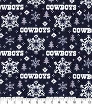Dallas Cowboys Christmas Flannel Fabric-Holiday, , hi-res