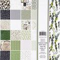 BoBunny Single-Sided Paper Pad 12\u0027\u0027X12\u0027\u0027 48/Pkg-Garden Party, 24 Designs